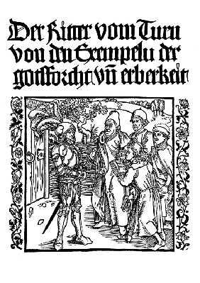 "Title page of edition of ""The Book of the Knight of the Tower"" by G. de la Tour Landry"