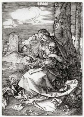 A.Dürer, Mary with the Pear