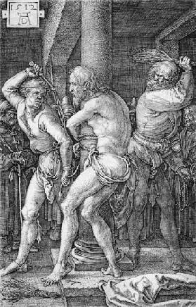 Flagellation of Christ / Dürer / 1512