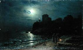 Savrasov, Alexej : Moonlight on the Edge of a...