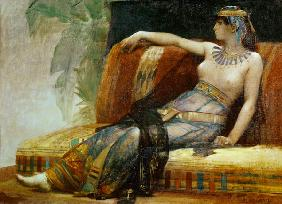 Cleopatra (69-30 BC), preparatory study for 'Cleopatra Testing Poisons on the Condemned Prisoners'