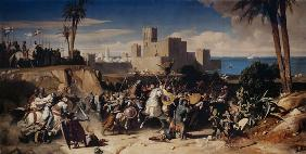 The Taking of Beirut by the Crusaders in 1197