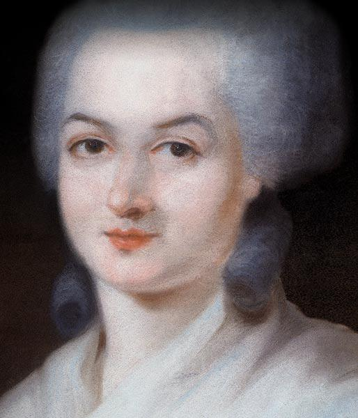 Portrait of Olympe de Gouges (Detail)