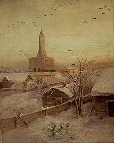 Savrasov, Alexej : The Schukarew tower in Mos...