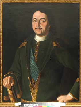 Portrait of Emperor Peter I the Great (1672-1725)