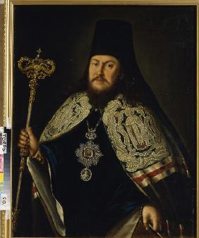 Portrait of Plato II (Levshin), the Metropolitan of Moscow (1737-1812)