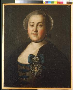 Portrait of Countess Agrippina Leontievna Apraxina