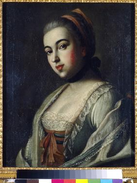 Portrait of Countess Anna Vorontsova (1743-1769)