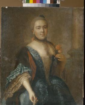 Portrait of Countess Elizabeth Vorontsova (1739-1792)