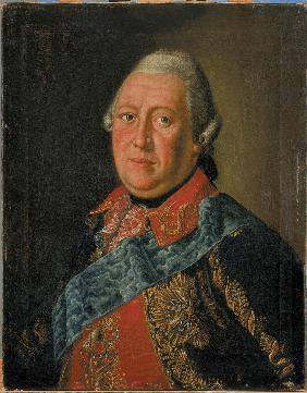 Portrait of Count Ivan Simonovich Gendrikov (1719-1782)