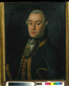 Portrait of Mikhail Dmitrievich Buturlin