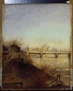 Savrasov, Alexej : The view Moscow Kremlin in...