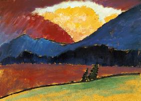 von Jawlensky, Alexej : Summer's evening in Murnau...