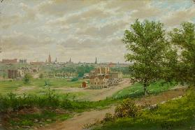 Lowry Hill, Minneapolis, 1888 (oil on canvas)