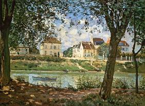 Sisley, Alfred : The little city of Villene...