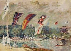 Regatta at Molesey