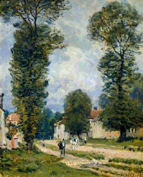 Way to Versailles, Louveciennes