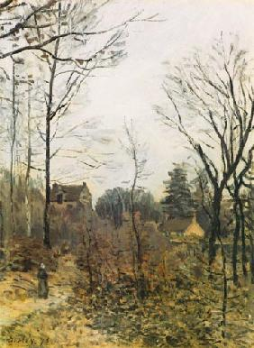 Sisley, Alfred : Autumn in Louveciennes