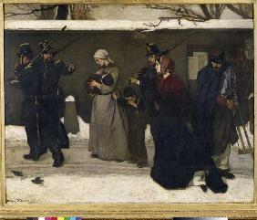 The arrest of the tramps