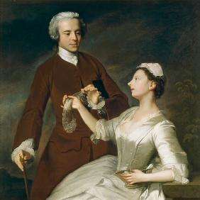 Portrait of Sir Edward and Lady Turner