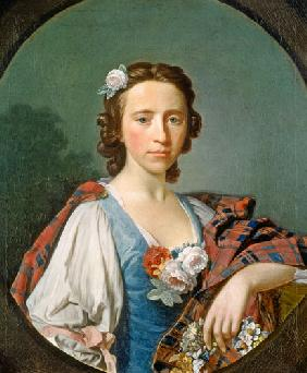 Portrait of Flora Macdonald (1722-90)