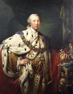 Portrait of George III (1738-1820) in his Coronation Robes