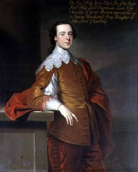 Portrait of the Honourable Philip York, son of Lord Hardwicke, High Chancellor of Great Britain