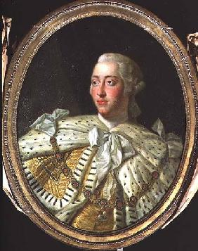 Portrait of King George III (1738-1820)