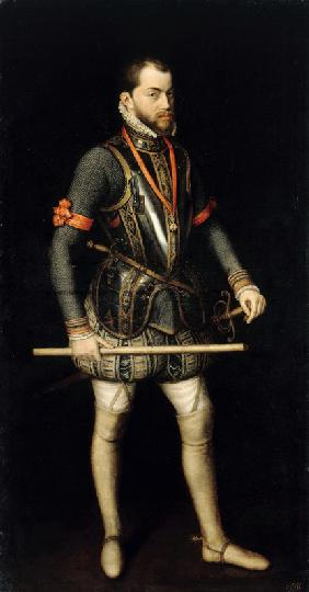 Portrait of Philip II (1527-1598), King of Spain and Portugal