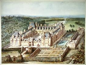 View of the Chateau of Ecouen