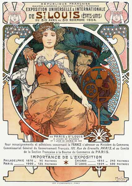 Mucha, Alphonse : Poster for the Universal a...