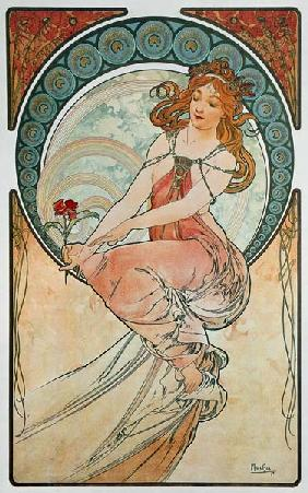 Mucha, Alphonse : The Arts: Painting