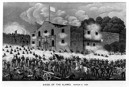 alamo battle coloring pages - photo#40