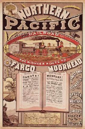 Northern Pacific Railroad Advertisement
