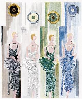 Four Flappers