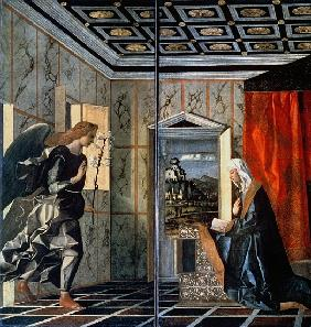 The Annunciation (pre-restoration)