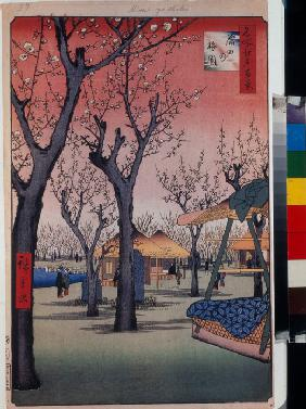 The Plum Orchard at Kamata (One Hundred Famous Views of Edo)