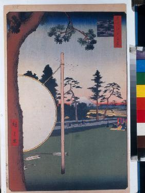 The Horse Track at Takata (One Hundred Famous Views of Edo)