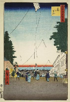 Kasumigaseki (One Hundred Famous Views of Edo)