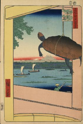 Mannen Bridge and the Fukagawa District (One Hundred Famous Views of Edo)