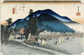 Ishiyakushi, from the series ''53 Stations of the Tokaido'', 1833-34