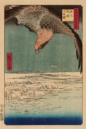 Susaki and the Jumantsubo Plain near Fukagawa (One Hundred Famous Views of Edo)