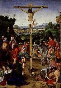 de Solario, Andrea : The crucifixion Christi.