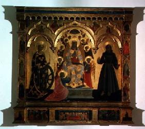The Madonna of the Girdle with Saints and Angels