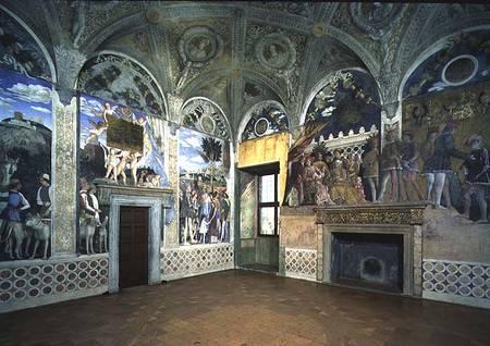 the camera degli sposi or camera picta w andrea mantegna