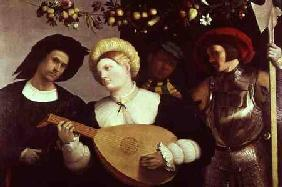Previtali, Andrea : The Lute Player