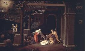Previtali, Andrea : The Nativity and the Annun...