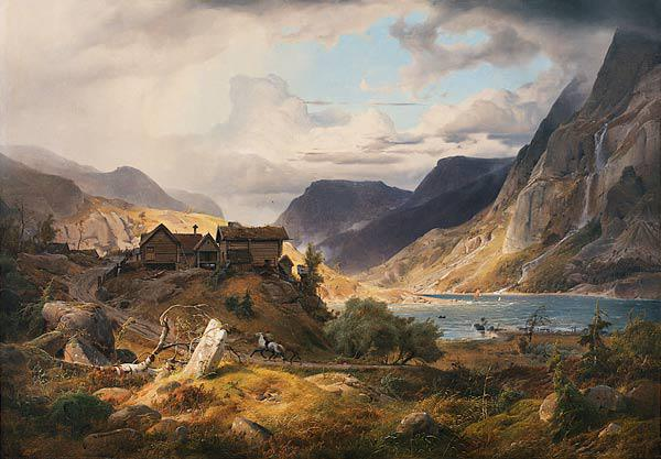 Norwegian mountain landscape