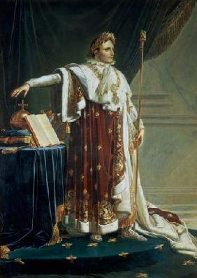 Portrait of Napoleon I in his Coronation Robes