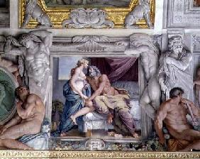 The 'Galleria di Carracci' (Carracci Hall) detail of Jupiter and Juno